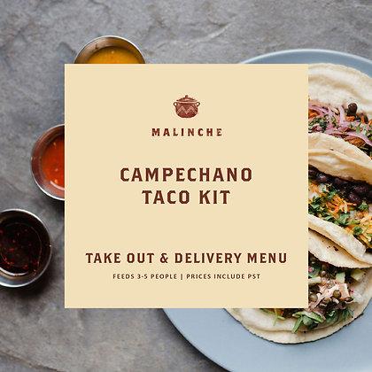 Malinche Campechano Taco Kit-Beef