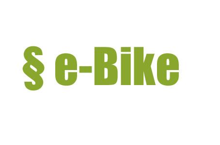 Regelungen des E-Bike fahrens
