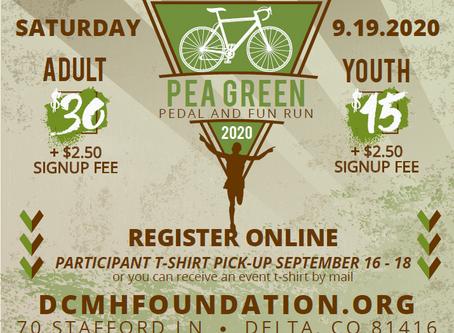 Virtual Pea Green Pedal & Fun Run 2020