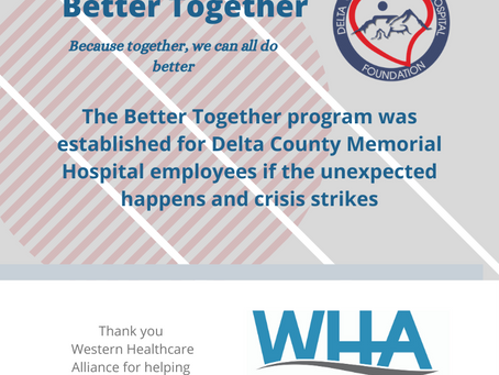 Better Together: A program to support DCMH employees in crisis