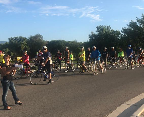Cyclist Start