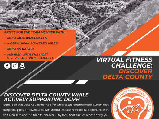Virtual Fitness Challenge: Discover Delta County
