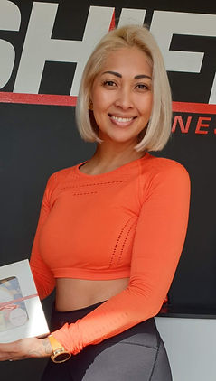 Perth personal trainer, Nissan Essery, smiling