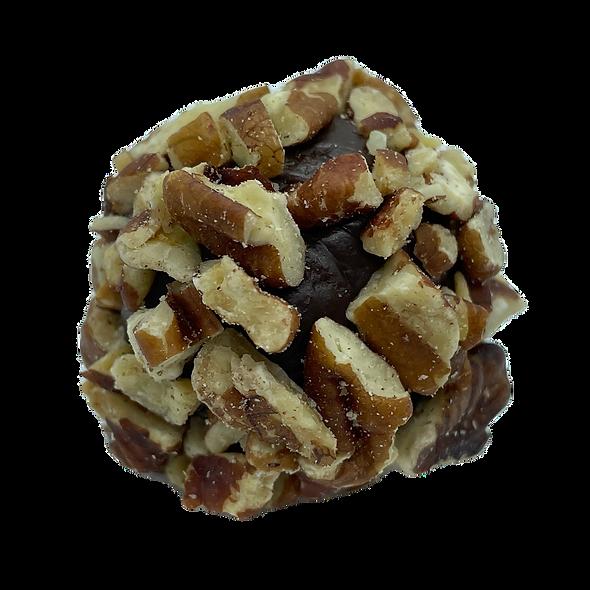 Pecan and Dark Chocolate Brazilian Style Truffles
