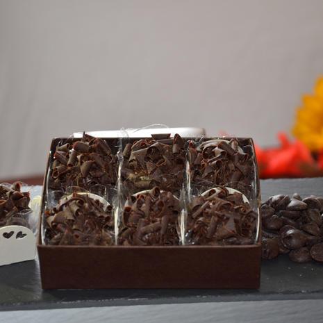 Dark Chocolate Brazilian Style truffles
