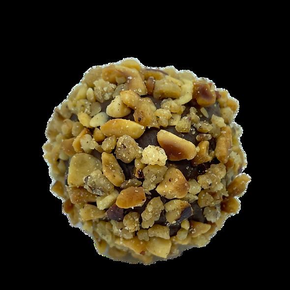 Caramelised Hazelnuts, Dulce de Leche and Dark Chocolate Brazilian StyleTruffles