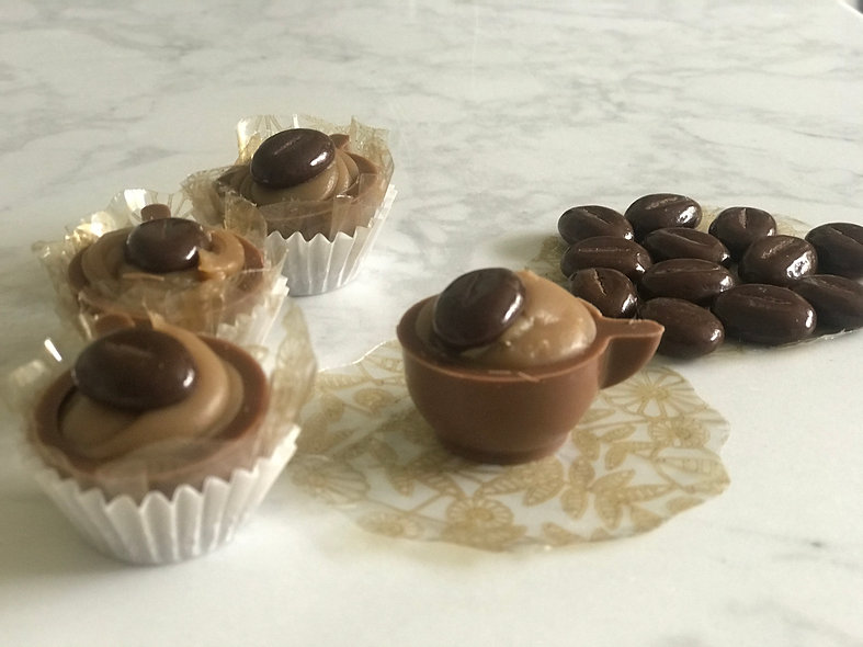 Cappuccino Milk Chocolate Cups