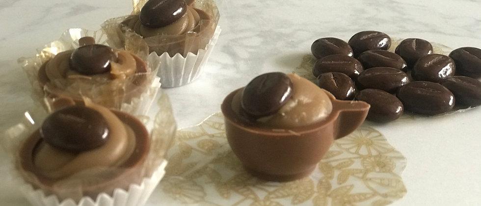 Cappuccino Milk Chocolate Cups