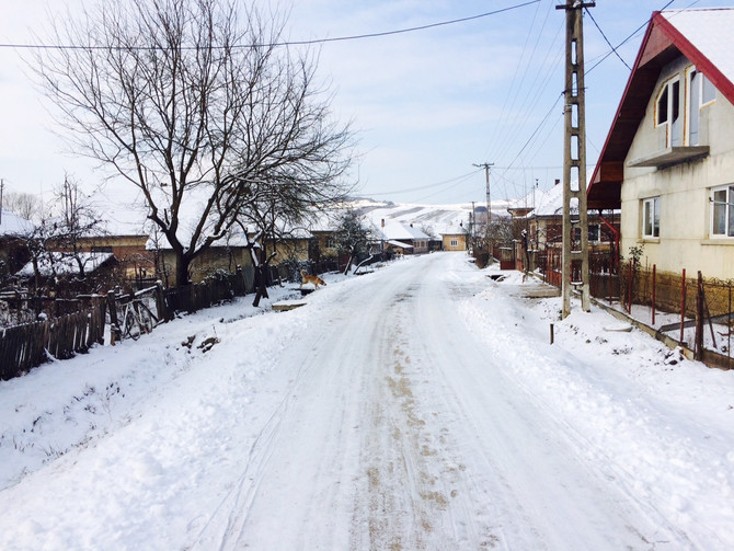 Winter Made It To Romania!