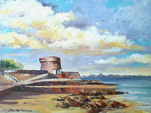 Martello Tower,  Seapoint, Co. Dublin.