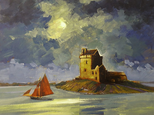 Dunguaire Castle SOLD  (Prints available)