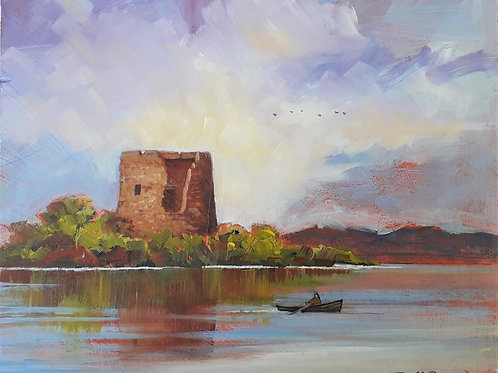 Lough Ughter Castle, Co. Cavan (Framed)