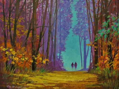 In the Autumn Forest SOLD
