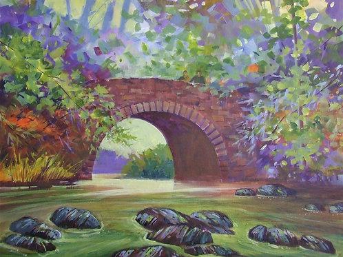 New Bridge in Forest