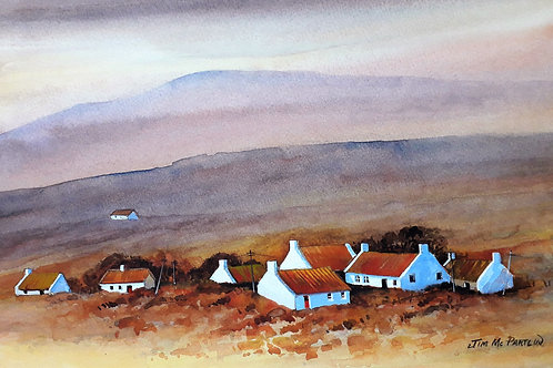 White Gables, Achill Island (Framed)