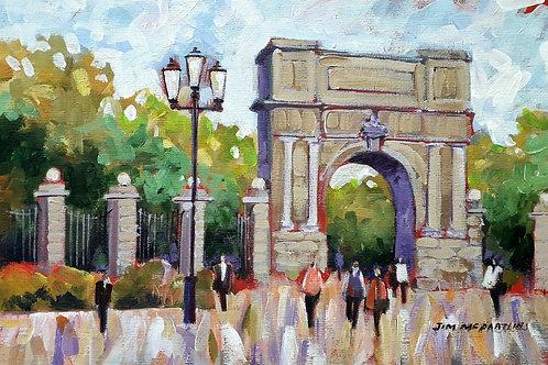 Fusileers Gate, St. Stephens Green, Dublin.