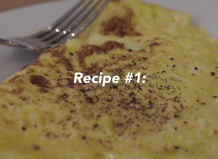 Very easy cheesy omelette for only £1!!!