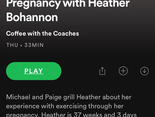 "Podcast #3 ""CrossFitting through Pregnancy"""