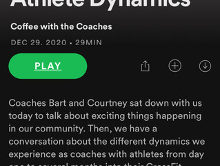 "Podcast #4 ""Coach/Athlete Dynamics"""
