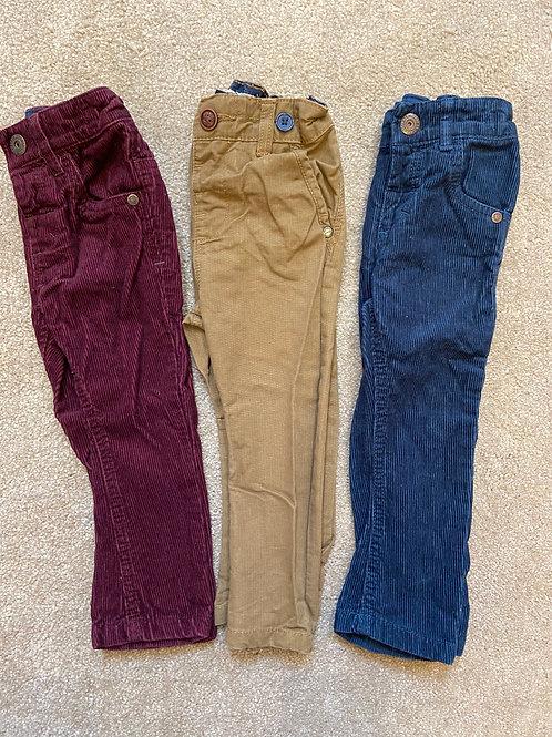 Boys Next Trousers bundle 9-12 months