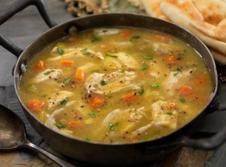Recette : la soupe de poulet