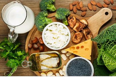 Les aliments riches en calcium autres que le lait