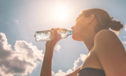 L'hydratation contre les entorses