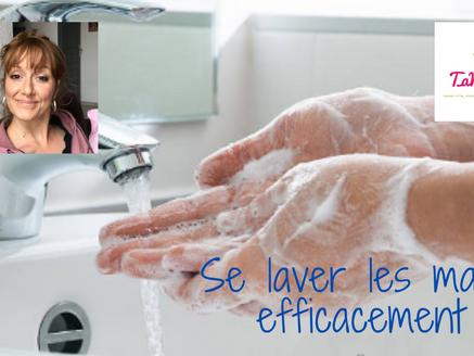 Coronavirus : lavage de mains efficace