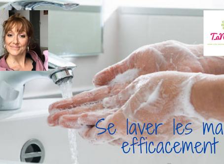Coronavirus : apprends à te laver les mains efficacement