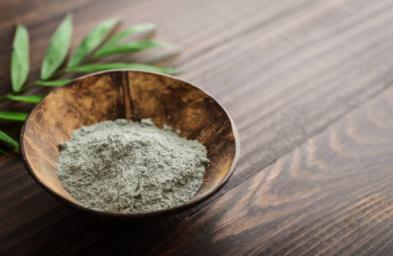 Poudre argile verte pour la santé et la beauté