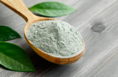 Argile verte pour soigner une entorse