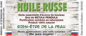 L'huile russe pour soulager le psoriasis