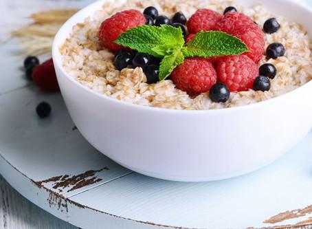 Idée petit déj complet : le porridge