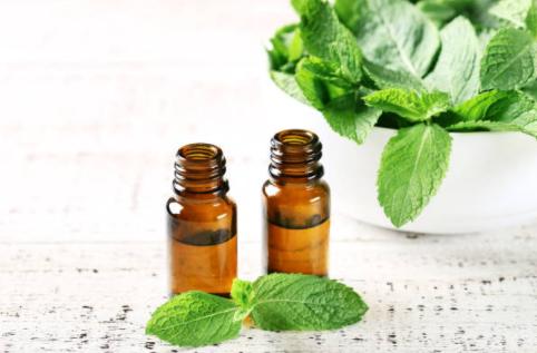 L'huile essentielle de menthe poivrée contre les entorses