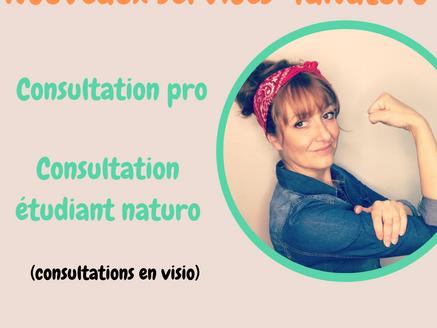 2 nouveaux services sur TaNaturo.com pour les professionnels et les étudiants naturopathes