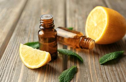 Du peps avec l'huile essentielle de citron