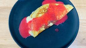 Idée petit déjeuner équilibré: l'omelette à la banane