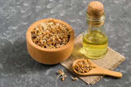 L'huile de germe de blé contre le psoriasis