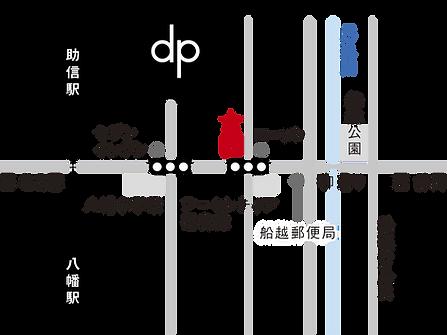 デザインピース地図