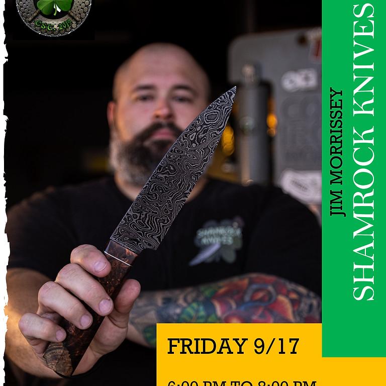 Shamrock Knives at Trilogy Coffee!!