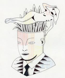 la femme sans visage