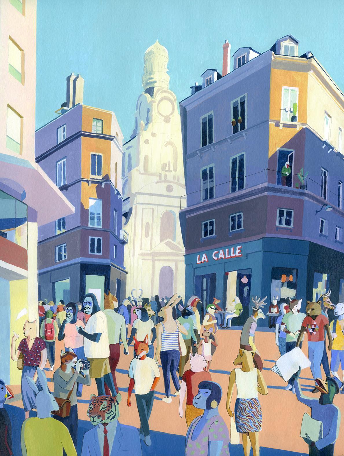 rue de la Marne, Nantes