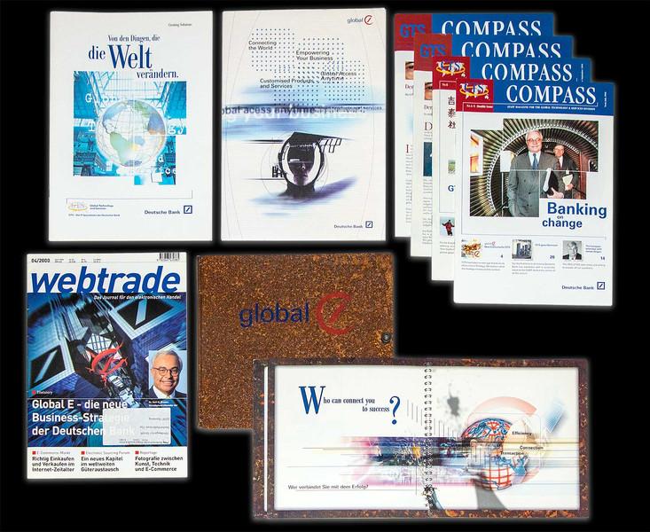 Communication concept internal/external Deutsche Bank GTS