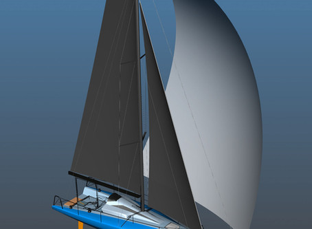 The realization of a dream: 30' Fast planing offshore racer