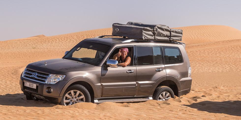 WüstenOasen-Zeit im April in Abu Dhabi