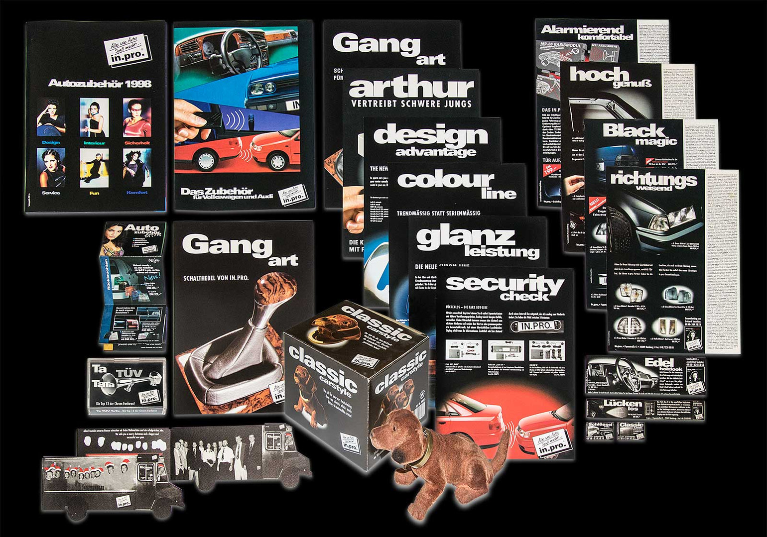 communication concept in.pro. car accessories