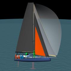 Flexible Sail Setup