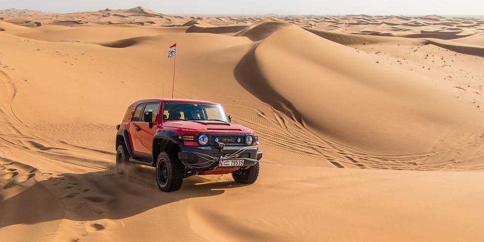 WüstenOasen-Zeit im April in Dubai