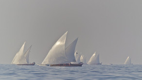 Racing in the burning sun: planing with 16 knots on a dhau