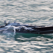 BV110 RC Carbon Yacht with 4 Hydrojets and bow thruster
